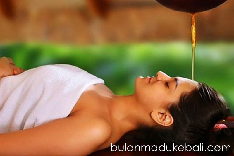 Spa Shirodhara treatment murah di Bali
